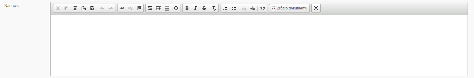 Pole tekstowe dlugie html