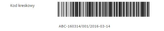 pole kod kreskowy przykład